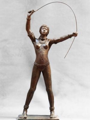 Darbaud_sculptures_nouba_ au_ fouet
