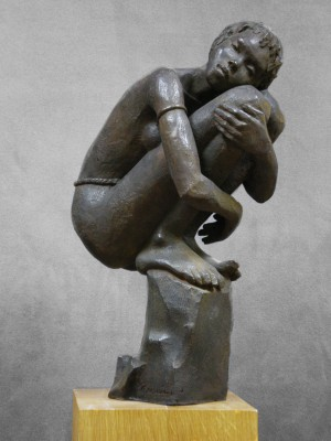 Darbaud_sculptures_femme_ vallée_ de_ l'omo
